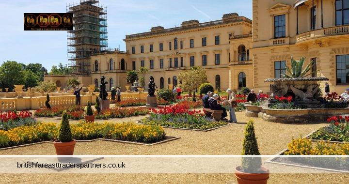 OSBORNE HOUSE: SUMMER ROYAL RESIDENCE TO PRINCE ALBERT & QUEEN VICTORIA IN ISLE OF WIGHT, UNITED KINGDOM