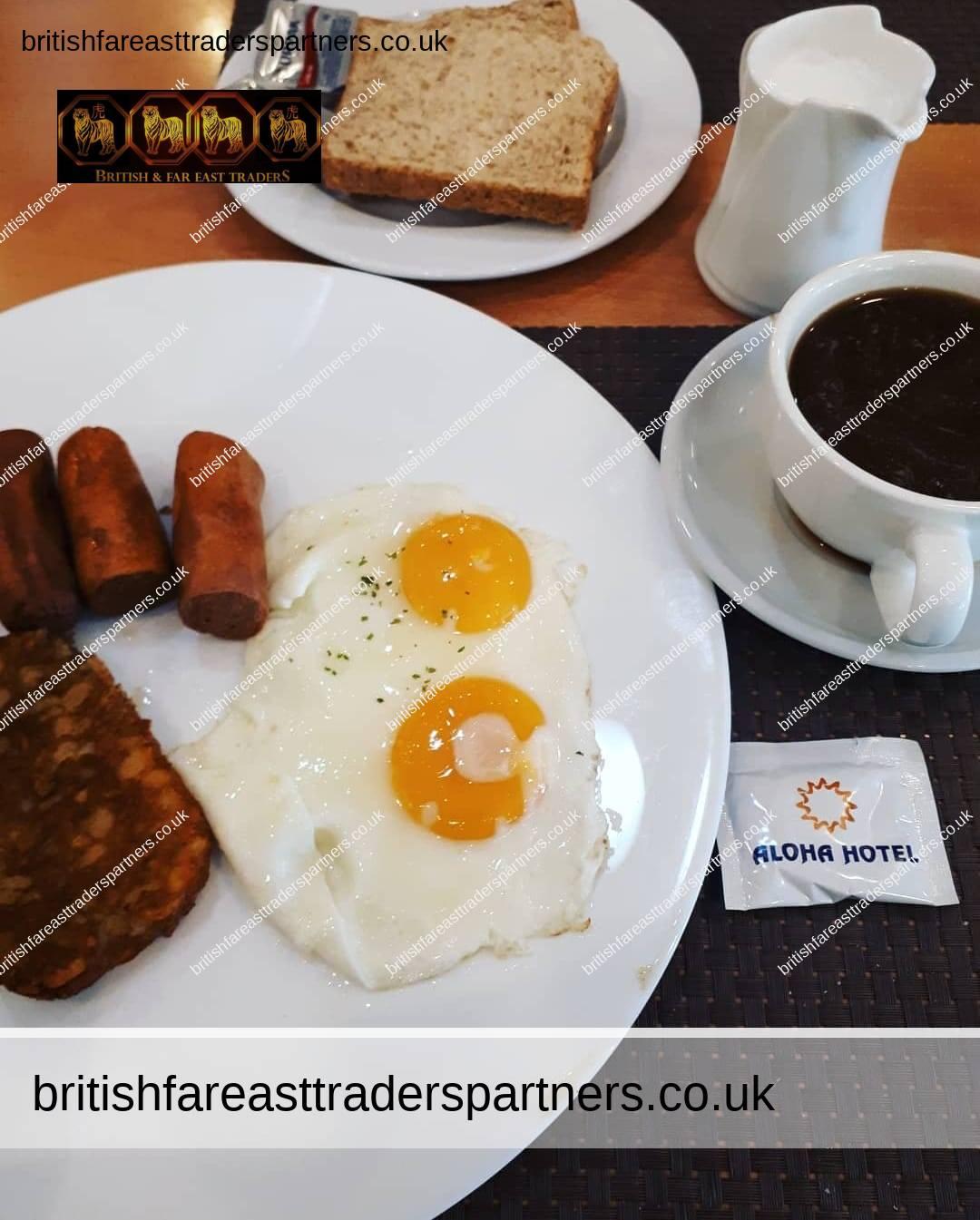 breakfast in aloha hotel