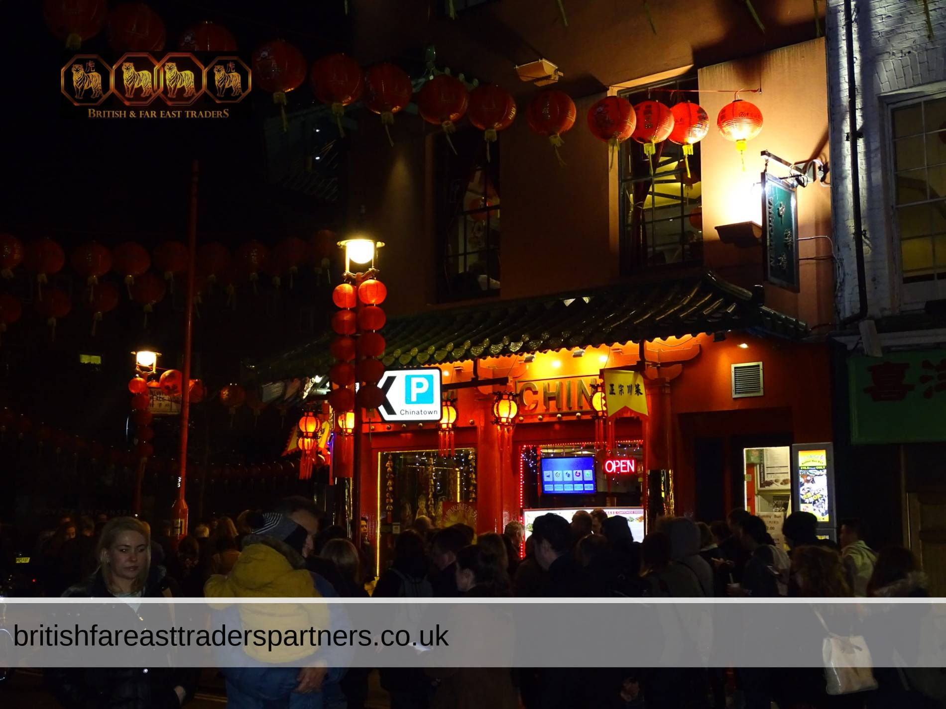 Chinese New Year Celebrations in London Chinatown, United Kingdom