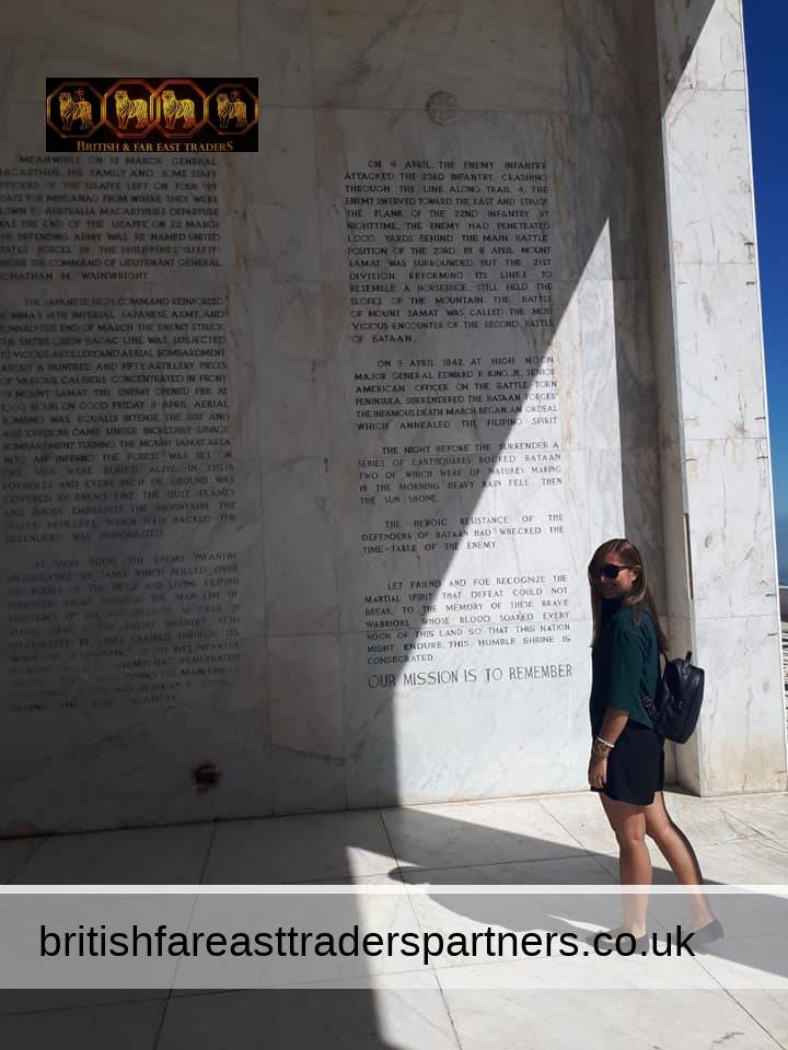 Surrender does not always mean defeat 🤓 Bataan symbolizes freedom's triumph over foreign agression 🇵🇭  Day off to do a bit of history with Erica Marie 📚