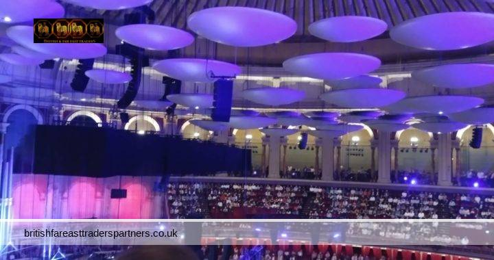 BBC PROMS: THE WORLD'S GREATEST CLASSICAL MUSIC FESTIVAL- A NIGHT WITH BEETHOVEN AT ROYAL ALBERT HALL LONDON UNITED KINGDOM
