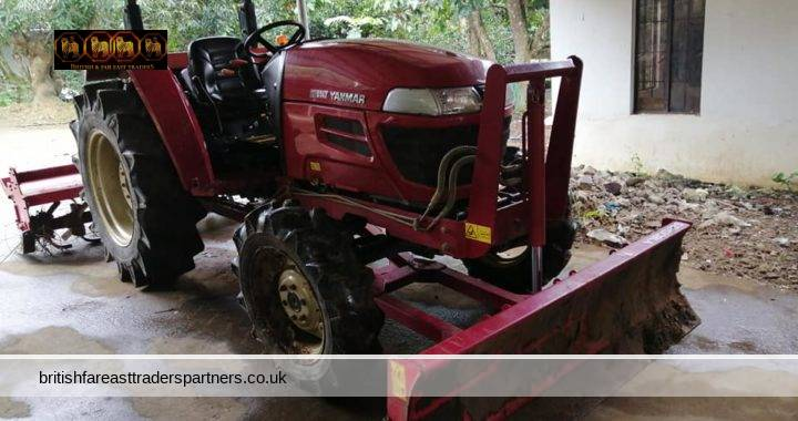 USED EF514T TRACTOR RUSH SALE! POWERFUL PERFORMANCE IN BOTH WET PADDY FIELD AND HARD TERRAIN FIELD