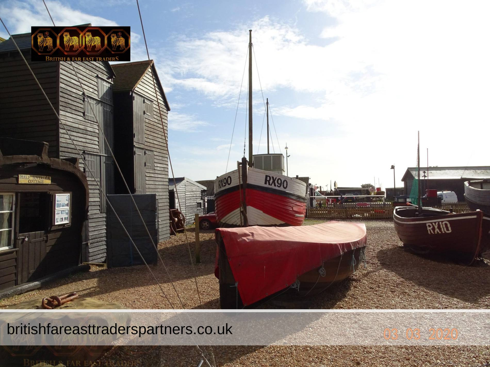 DISCOVERING THE FISHING HERITAGE OF HASTINGS OLD TOWN, ENGLAND