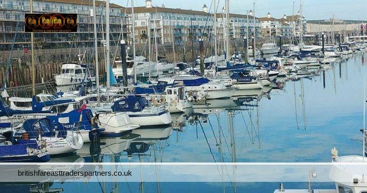 CHILLOUT IN BRIGHTON MARINA, EAST SUSSEX, ENGLAND