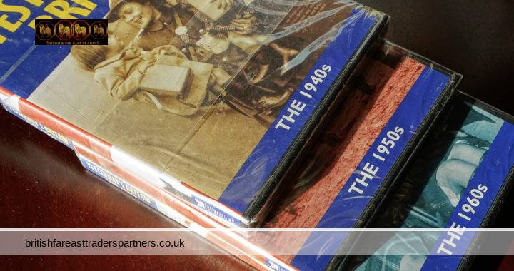 READER'S DIGEST 2004 Yesterday's BRITAIN 1940s 1950s 1960s BRITISH History / Social History Lot of 3 DVDs