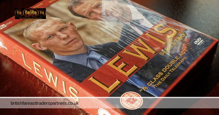 ITV 2008 LEWIS Series Two Detective DRAMA Murder Mystery OXFORD University Laurence FOX Kevin Whately ENGLAND DVD Box Set NEW & SEALED