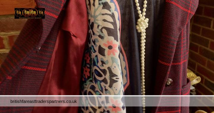 BRITISH FASHION INSPIRATION: FULLY-LINED VINTAGE / HERITAGE LONG RED WINTER COAT BY PRINCIPLES