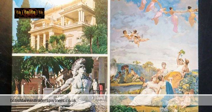 VINTAGE POSTCARD STORIES: The Weather is Still Glorious in Corfu, Greece- Written on 20th May 1978