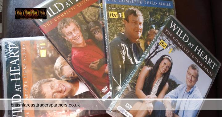 WILD AT HEART Complete Series 1 2 3 4 Box Sets (DVDs 2007-2010) 11 Discs AS SEEN ON ITV 1 VGC