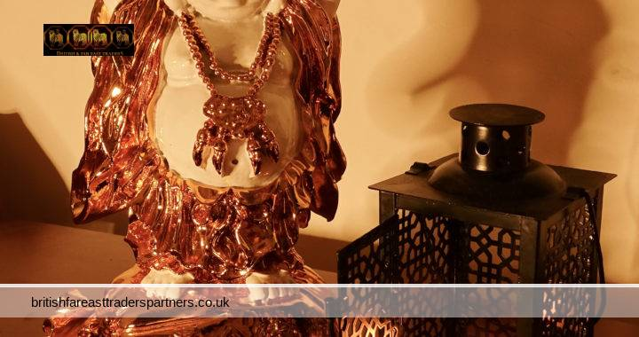 COSY UP THIS AUTUMN/ WINTER WITH AN ORIENTAL MOOD: GOLDEN BUDDHA + ORIENTAL TEALIGHT CANDLE HOLDER