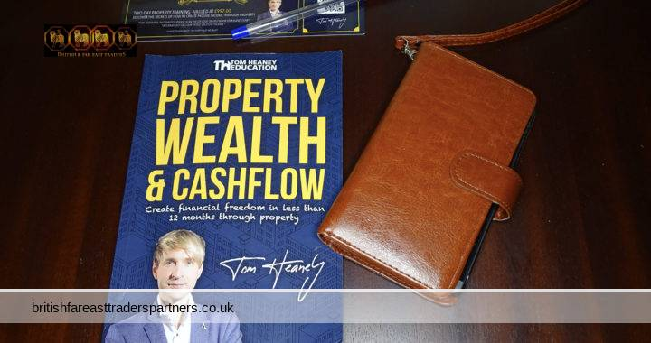 BOOK REVIEW: PROPERTY & WEALTH CASHFLOW: Create financial freedom in less than 12 months through property By Tom Heaney