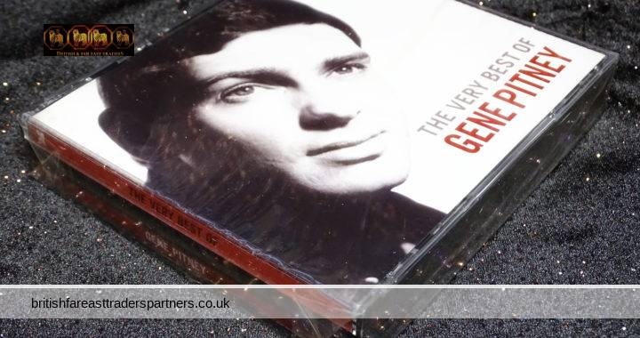 READER'S DIGEST The Very Best Of Gene Pitney 3 Music CD Box Set 2006 New & Sealed