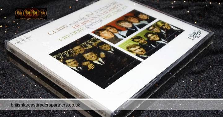 GERRY AND THE PACEMAKERS, HERMAN'S HERMITS,  FREDDIE AND THE DREAMERS 3 CD BOX SET READER'S DIGEST