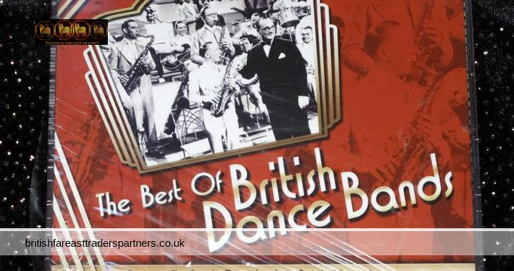 BOX SET of 3 CDs The Best Of British Dance Bands Various Artists Like New