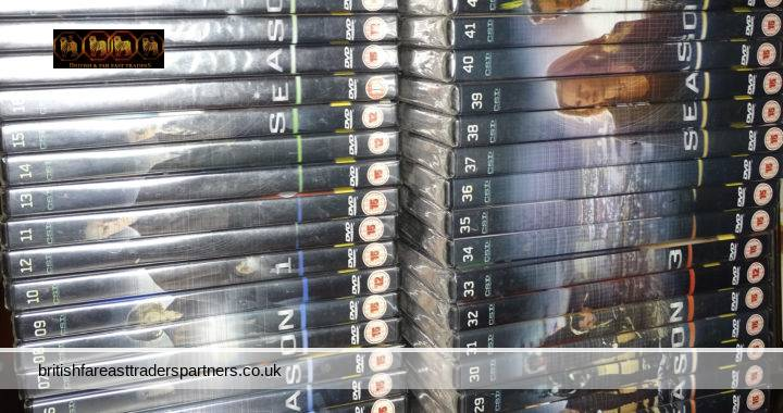 CSI: CRIME SCENE INVESTIGATION The Official DVD Collection Seasons 1-4 45 DVDs JOB LOT / COLLECTION