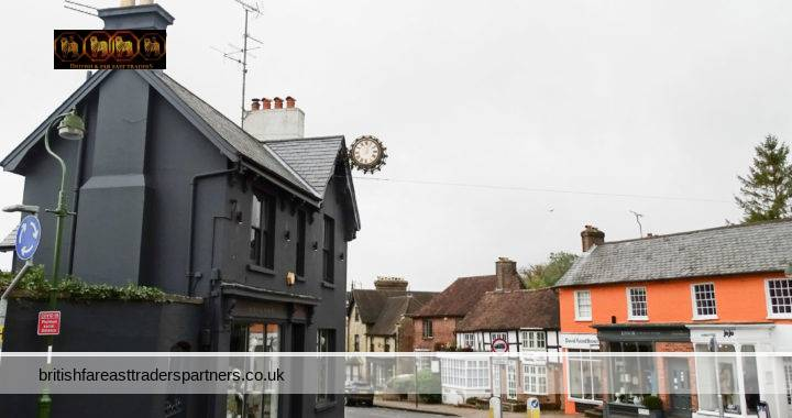 EXPLORING THE CHARMING ENGLISH VILLAGE OF CUCKFIELD IN THE MIDSUSSEX DISTRICT OF WEST SUSSEX, ENGLAND: TWINNED WITH AUMALE NORMANDY & KARLSTADT BAVARIA