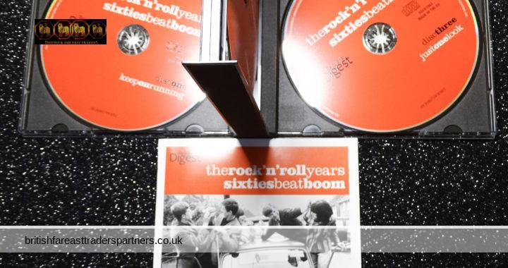 READER'S DIGEST 2011 The Rock n Roll Years Sixties Beat Boom 3 CD Set + Booklet