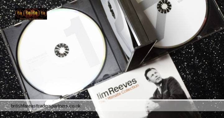 BMG 2003 Jim Reeves The Ultimate Collection 4 CD Set + Booklet 88 Total Tracks