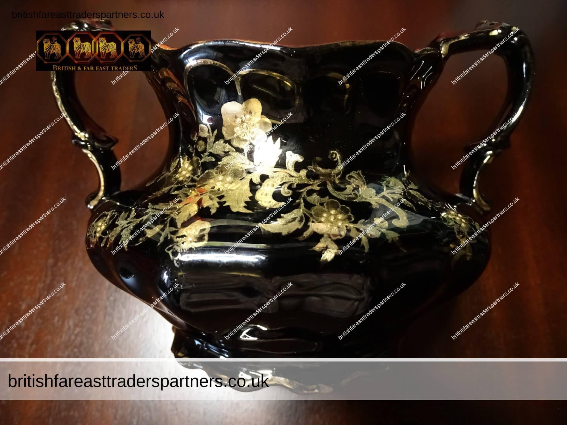 Vintage Crown Essex charlotte milk jug and sugar bowl.