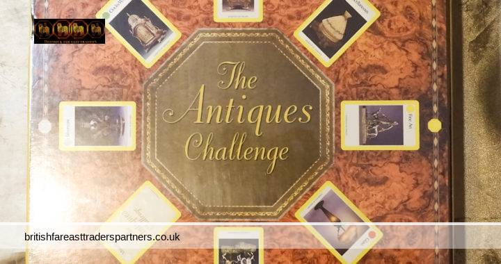 VINTAGE The Antiques Challenge CLASSIC Board Game Antiques Lovers NEW & SEALED!