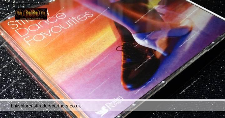 READER'S DIGEST 2005 Strictly DANCE Favourites 4 CDs + Booklet 94 Tracks