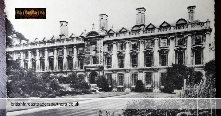 VINTAGE 20 July 1960 Clare College CAMBRIDGE Founded 1326 Cadet Forces Centenary 1860-1960 POSTMARK RPPC POSTCARD COLLECTABLE EDUCATION HISTORY TOPOGRAPHICAL