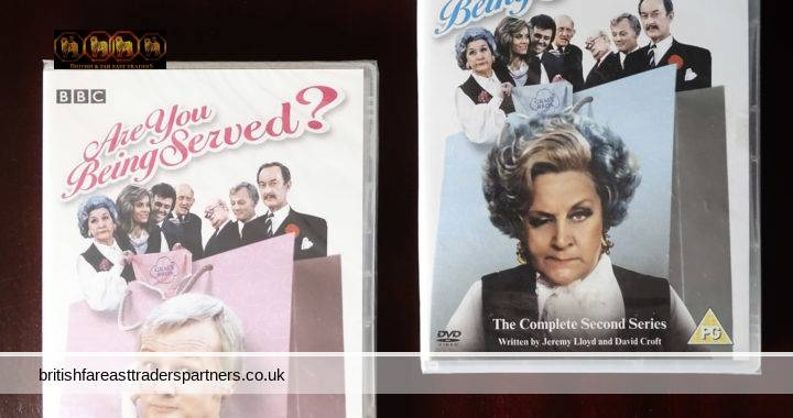 BBC 2005 Are You Being Served? The COMPLETE First & Second Series Lot of 2 DVDs CLASSIC BRITISH COMEDY DEPARTMENT STORE COMEDY