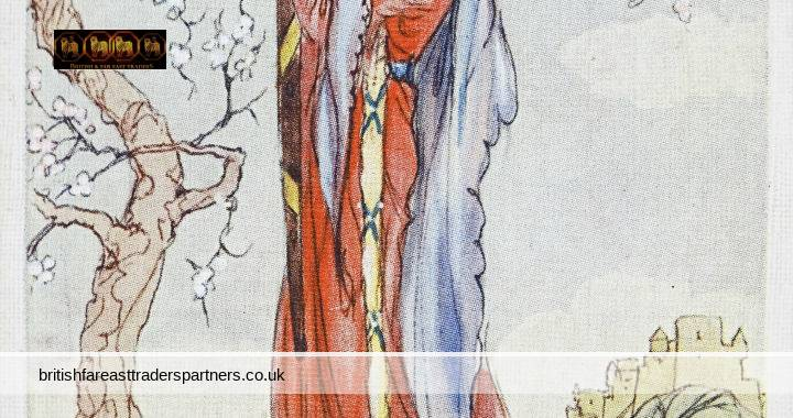 VINTAGE Queen Guinevere FAMOUS BEAUTIES A.K MACDONALD Drawings JOHN PLAYER & SONS Player's Cigarettes Card COLLECTABLE SOCIAL HISTORY / SOCIETY LADIES / PERSONALITIES / ROYALTY / QUEEN