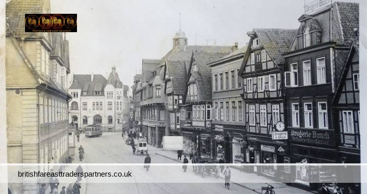 VINTAGE CELLE Altstadt Old Market Town Lower Saxony GERMANY Black & White PHOTO COLLECTABLE PHOTO ARCHITECTURE HERITAGE / HISTORY SOCIAL HISTORY TOPOGRAPHICAL TOURS & TRAVEL EUROPE