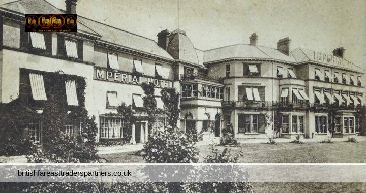VINTAGE IMPERIAL HOTEL BARNSTAPLE, DEVON F. Frith & Co Ltd REIGATE ENGLAND  COLLECTABLE Post Card HISTORICAL / TOPOGRAPHICAL / TOURISM / TRAVEL