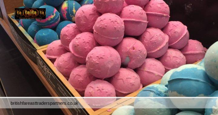JUMBO BATH BALLS / BOMBS 180 g for FIZZ & FRAGRANCE with added SHEA BUTTER for SMOOTHER SKIN: Perfect PAMPERING TREATS or GIFTS!