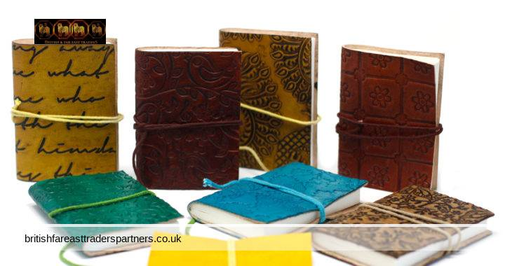 ECO- FRIENDLY Leather Covered Unique JOURNALS / NOTEBOOKS / DIARIES with UNIQUE DETAILS such as ONYX, TIGERS EYE,LAPIS, CHAKRA, MOONSTONE,  BELTS, CLASPS, BUCKLES,LOCKS,  MAPS, COMPASS, GREENMAN, SKULL, DRAGONS, and MANDALAS