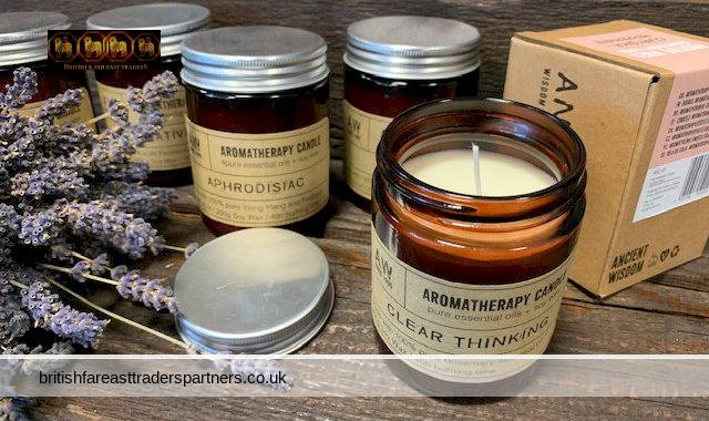 AROMATHERAPY NATURAL PURE VEGAN SOY WAX made with Pure Essential Oils Amber Glass Jar CANDLES 200g 40 Hours Burn Time Perfect for GIFTS or DECOR: Peppermint & Clove (CREATIVITY) / YlangYlang & Patchouli (APHRODISIAC) / Lavender & Geranium (PEACE) / Clary Sage & Peppermint (POSITIVE VIBES) /Rosemary (CLEAR THINKING)