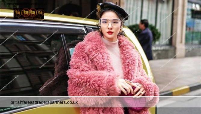 Ladies' Women's NEW WINTER OVERSIZED TEDDY FURRY ROSE PINK OVERCOAT CASHMERE WOOLEN LONG JACKET TEDDY COAT