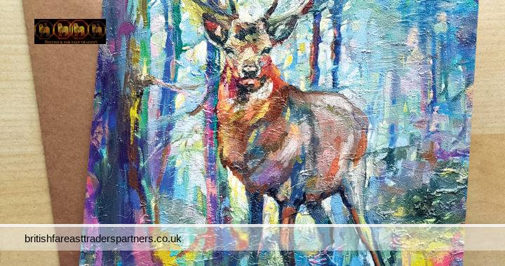 SEND POSITIVE VIBES with OUR new range of COLOURFUL, VIBRANT, and ARTISTIC GREETING CARDS designed in the UNITED KINGDOM by INSPIRING UK ARTISTS: FEATURING BRITISH ARTIST SUE GARDNER