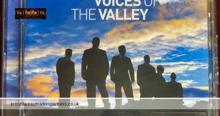 2006 VOICES OF THE VALLEY From The Fron Male Voice Choir Universal Classics & Jazz | Universal Music Company 13 Tracks  Audio CD
