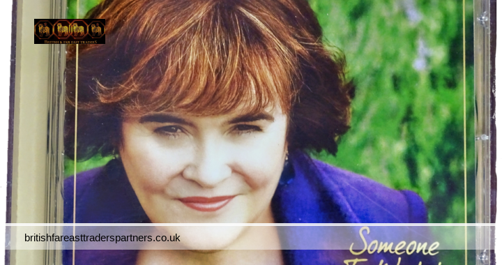 2011 SUSAN BOYLE Someone To Watch Over Me SYCO Music | SONY Music 10 Tracks  Audio CD + Booklet