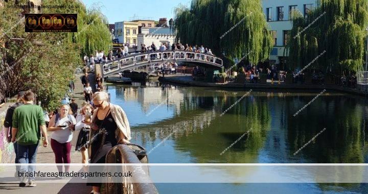 DISCOVER LONDON'S ROMANTIC LITTLE SECRET: THE SERENE LITTLE VENICE TO CAMDEN MARKET REGENTS CANAL WALK
