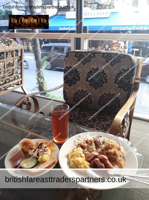 filipino and continental breakfast makati