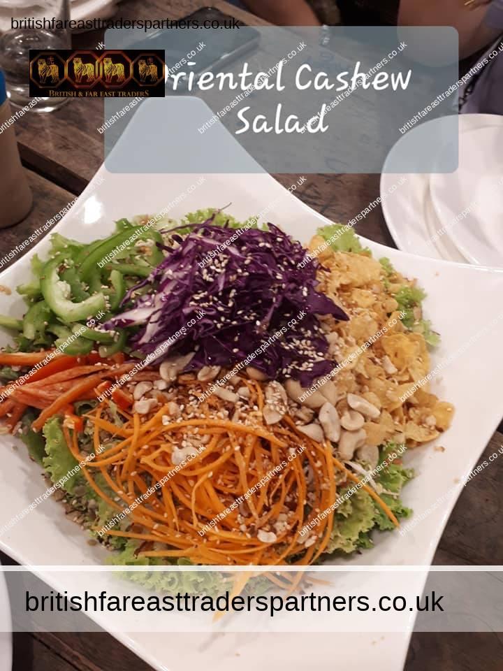 oriental cashew salad