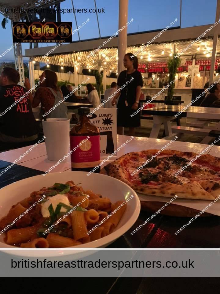 pasta and pizza in bali indonesia, Italian food