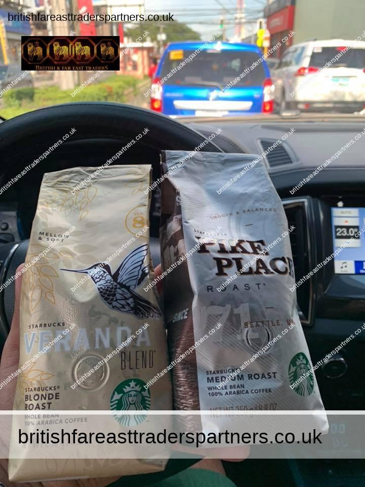 Starbucks Coffee Beans, 100% arabica coffee
