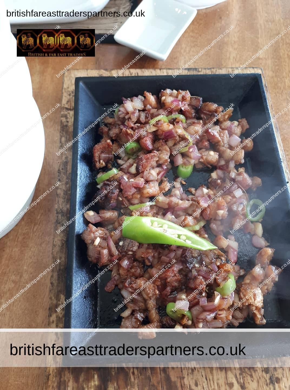sizzling pork sisig