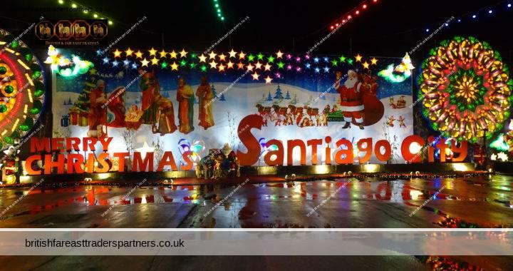CHRISTMAS AROUND THE WORLD IN SANTIAGO CITY