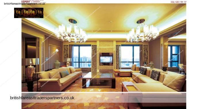 HOTEL FURNITURES: LOBBY & BEDROOM