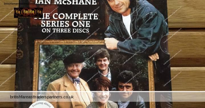 NEW & SEALED LOVEJOY  Complete Series One  BOX SET DVD x 3  Ian McShane  1986
