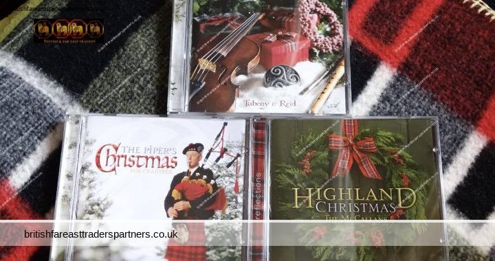 CELTIC CHRISTMAS 3 CD Set: Taheny & Reid – The McCallans – Rob Crabtree VGC HTF