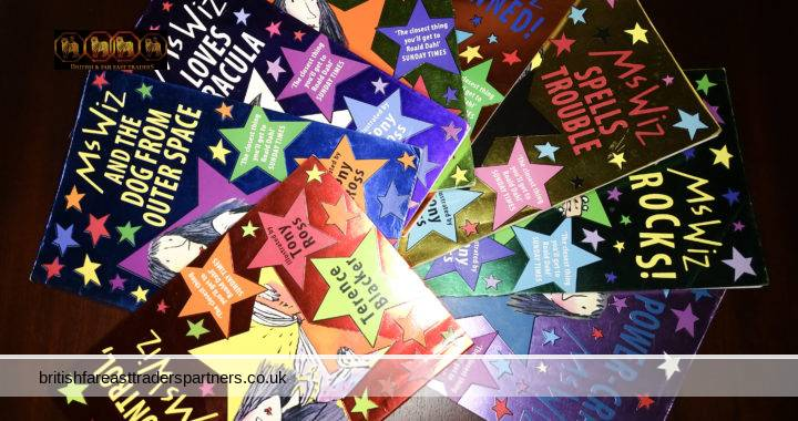 MS WIZ 8 Kids' / Children's Illustrated Story Books Terence Blackner Illustrated by Tony Ross Job Lot / Bundle