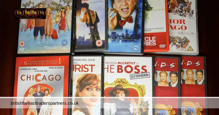 JOBLOT / BUNDLE of 10 PreLoved DVDs Escapism Self Discovery, Romantic , Adventure, Couples & Family VGC