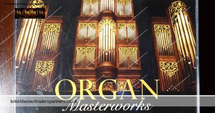 READER'S DIGEST ORGAN Masterworks 37 Favourite Organ Classics 3 CD Box Set + Booklet